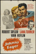 """Movie Posters:Film Noir, Johnny Eager (MGM, R-1949). One Sheet (27"""" X 41""""). Film Noir...."""