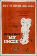"""Movie Posters:Comedy, My Uncle (Continental, 1958). One Sheet (27"""" X 41""""). Comedy...."""