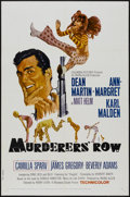"Movie Posters:Action, Murderers' Row (Columbia, 1966). One Sheet (27"" X 41""). Action...."