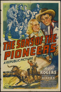 """Movie Posters:Western, The Sons of the Pioneers (Republic, 1942). One Sheet (27"""" X 41""""). Western...."""