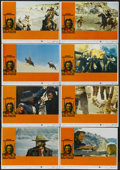 """Movie Posters:Western, The Outlaw Josey Wales (Warner Brothers, 1976). Lobby Card Set of 8 (11"""" X 14""""). Western.... (Total: 8 Items)"""