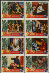 "Caltiki, the Immortal Monster (Allied Artists, 1960). Lobby Card Set of 8 (11"" X 14""). Horror.... (Total: 8 It..."