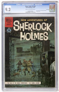 Silver Age (1956-1969):Mystery, Four Color #1169 New Adventures of Sherlock Holmes - File Copy(Dell, 1961) CGC NM- 9.2 Cream to off-white pages....