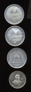 Expositions and Fairs, Quartet of Colombian World's Fair Medals.... (Total: 4 medals)