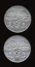 Expositions and Fairs, Uncertified Pair of Columbian World's Fair Medals, Eglit-36a....(Total: 2 medals)