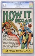 Golden Age (1938-1955):Non-Fiction, Single Series #15 How It Began (United Features Syndicate, 1939)CGC VF 8.0 Off-white pages....