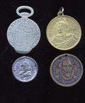 Expositions and Fairs, Four 1893 Columbian World's Fair Tokens.... (Total: 4 tokens)