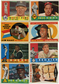 Baseball Cards:Lots, 1960 Topps Baseball Collection (415+).Offered is a collection of415+ cards from the 1960 Topps issue including 16 high numb...