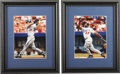 Autographs:Photos, Modern Baseball Stars Signed Photographs Lot of 3. A trio of starsfrom the 1990s are represented here in the form of three...
