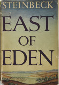 Books:First Editions, John Steinbeck. East of Eden. New York: Viking Press,1952....