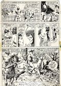 Original Comic Art:Panel Pages, Barry Smith, P. Craig Russell, and Dan Adkins - Conan the Barbarian#21, page 7 Original Art (Marvel, 1972).... (Total: 2 Items)