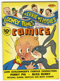 Golden Age (1938-1955):Cartoon Character, Looney Tunes and Merrie Melodies Comics #2 File Copy (Dell, 1941)Condition: FN-....