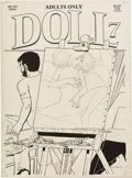 Original Comic Art:Covers, Guy Colwell - Doll #7 Cover Original Art (Rip Off Press, 1991)....