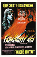 "Movie Posters:Science Fiction, Fahrenheit 451 (Universal, 1967). One Sheet (27"" X 41"")...."