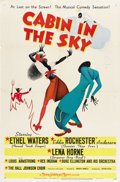 "Movie Posters:Musical, Cabin in the Sky (MGM, 1943). One Sheet (27"" X 41"") Style C...."