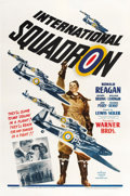 "Movie Posters:War, International Squadron (Warner Brothers, 1941). One Sheet (27"" X41"")...."