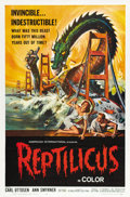 "Movie Posters:Science Fiction, Reptilicus (American International, 1961). One Sheet (27"" X41"")...."