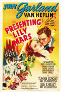 "Movie Posters:Musical, Presenting Lily Mars (MGM, 1943). One Sheet (27"" X 41"") Style D...."