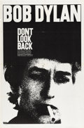 "Movie Posters:Documentary, Don't Look Back (Leacock-Pennebaker, 1967). One Sheet (27"" X 41"")...."