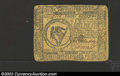 Colonial Notes:Continental Congress Issues, May 9, 1776, $8, Continental Congress Issue, CC-38, VF. This ...