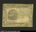 Colonial Notes:Continental Congress Issues, Continental Currency May 20, 1777 $7 Choice About New. The ...