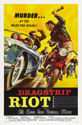 "Movie Posters:Drama, Dragstrip Riot (American International, 1958). One Sheet (27"" X41"")...."