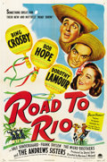"""Movie Posters:Comedy, Road to Rio (Paramount, 1948). One Sheet (27"""" X 41"""")...."""