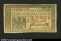 Colonial Notes:New Jersey, New Jersey March 25, 1776 1s Gem New. Very well margined, ...