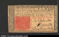 Colonial Notes:New Jersey, March 25, 1776, 6s, Plate B, New Jersey, NJ-178, XF-AU. This ...