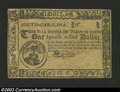 Colonial Notes:South Carolina, South Carolina December 23, 1776 $1 Choice New. A ...