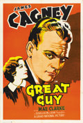 "Movie Posters:Drama, Great Guy (Grand National, 1936). One Sheet (27"" X 41"")...."