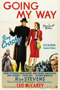 "Movie Posters:Academy Award Winner, Going My Way (Paramount, 1944). One Sheet (27"" X 41"")...."