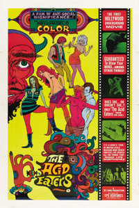 "The Acid Eaters (FPS Ventures, 1968). One Sheet (27"" X 41"")"