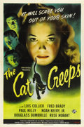"""Movie Posters:Mystery, The Cat Creeps (Universal, 1946). One Sheet (27"""" X 41"""")...."""