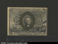 Fractional Currency:Second Issue, Second Issue 25c, Fr-1283, XF-AU. This is the type variety ...