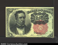 Fractional Currency:Fifth Issue, Fifth Issue 10c, Fr-1265, Choice AU. This Meredith note is ...