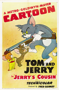 """Jerry's Cousin (MGM, 1950). One Sheet (27"""" X 41"""")"""