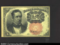 Fractional Currency:Fifth Issue, Fifth Issue 10c, Fr-1266, AU. This is a very attractive note ...