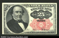 Fractional Currency:Fifth Issue, Fifth Issue 25c, Fr-1308, Choice-Gem CU. Long key variety. A ...