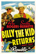 """Movie Posters:Western, Billy the Kid Returns (Republic, 1938). One Sheet (27"""" X 41"""")...."""