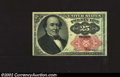 Fractional Currency:Fifth Issue, Fifth Issue 25c, Fr-1308, AU. This Walker note with long key ...