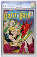 Silver Age (1956-1969):Science Fiction, The Brave and the Bold #2 (DC, 1955) CGC FN- 5.5 Off-white to whitepages....