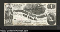Confederate Notes:1862 Issues, 1862 $1 Steamship at Sea; Lucy Holcombe Pickens on right; ...