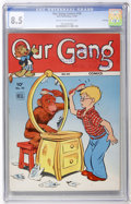 Golden Age (1938-1955):Humor, Our Gang #10 File Copy (Dell, 1944) CGC VF+ 8.5 Cream to off-white pages....