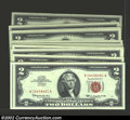 Small Size:Legal Tender Notes, Forty consecutive 1963 $2 Legal Tender Notes, Fr-1513, Choice-...