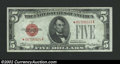 Small Size:Legal Tender Notes, 1928C $5 Legal Tender Note, Fr-1528*, Choice CU. A nice ...