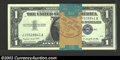 Small Size:Silver Certificates, Forty 1957A $1 Silver Certificates, Fr-1620, Gem CU. This is ...