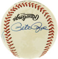 Autographs:Baseballs, 3,000 Hit Club Multi-Signed Baseball. A total of five members ofbaseball's elusive 3,000 Hit Club have each checked in on ...