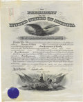 Autographs:U.S. Presidents, William Howard Taft Signed Military Appointment....