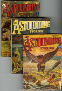 Astounding Stories Group (Street & Smith, 1935) Condition: Average GD/VG